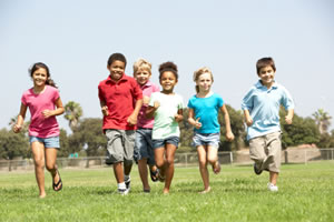 Children should get 60 minutes of physical activity a day.